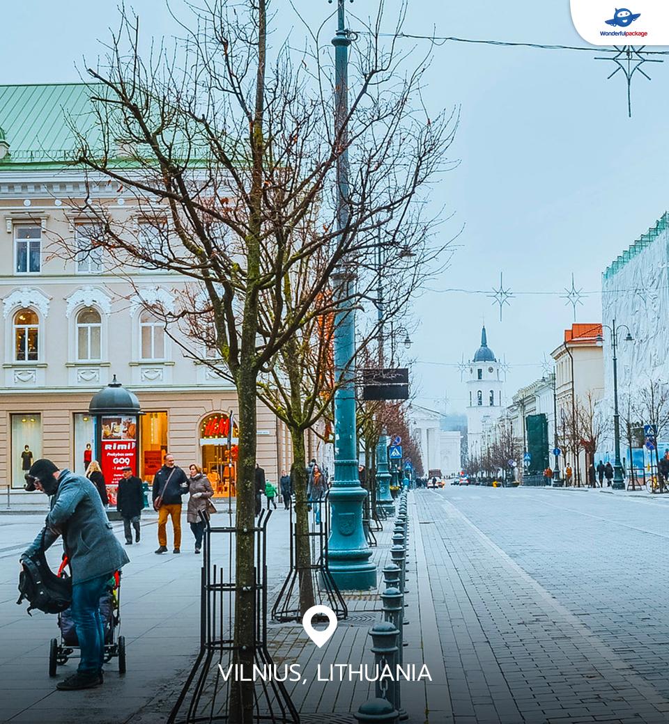 วิลนีอุส ลิทัวเนีย (Vilnius, Lithuania)
